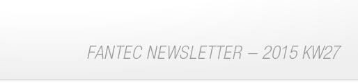 FANTEC Newsletter 2015 KW25 - Bestellformular