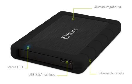 AluPro U3 (schwarz)