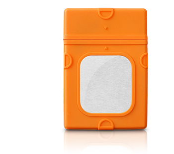 "Protection Sleeve 3.5"" orange"